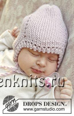 Детская шапочка Lullaby спицами