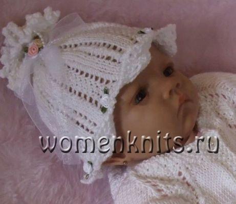 Как вязать детскую шапочку