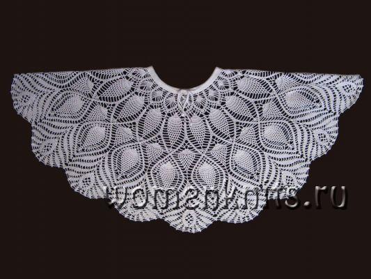 Шикарная юбка «Павлиний хвост» крючком
