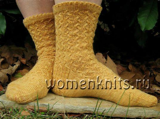 Эти очаровательные носки спицами