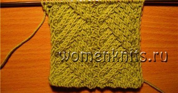 Жилет и свитер спицами